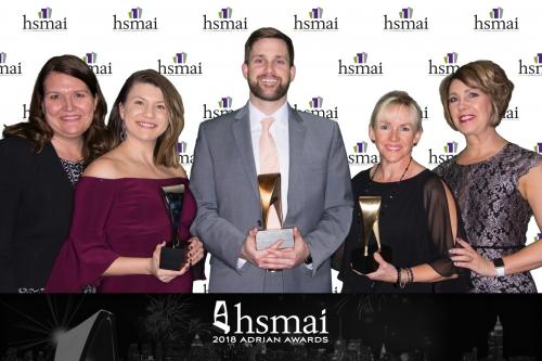 OTO team with Adrian awards